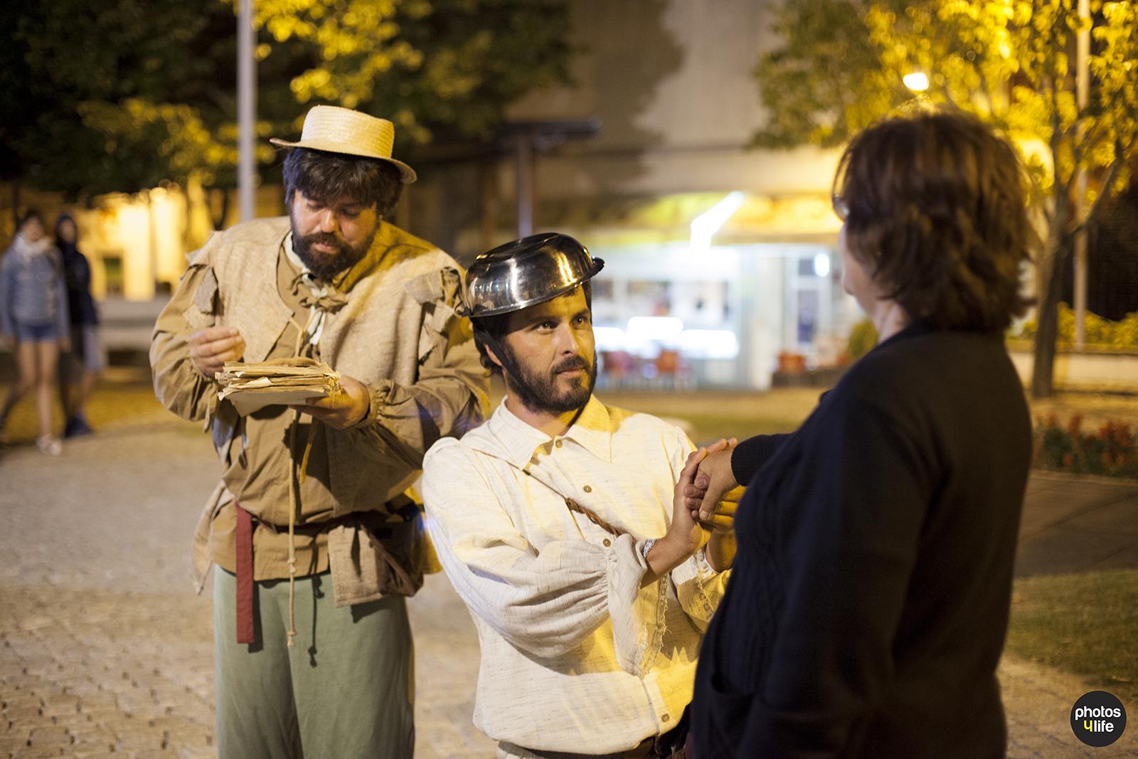 Dom Quixote - Teatro de Rua - Animação de Rua